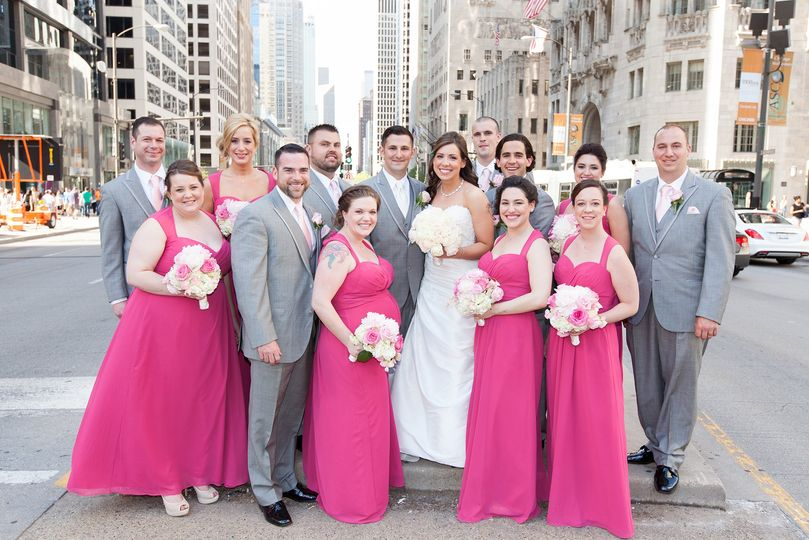 Michigan Avenue Bridal Party