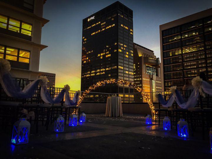 Louisville Rooftop wedding