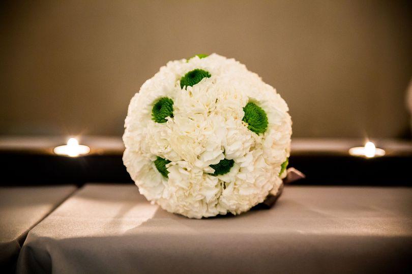 Flower girl's flower ball