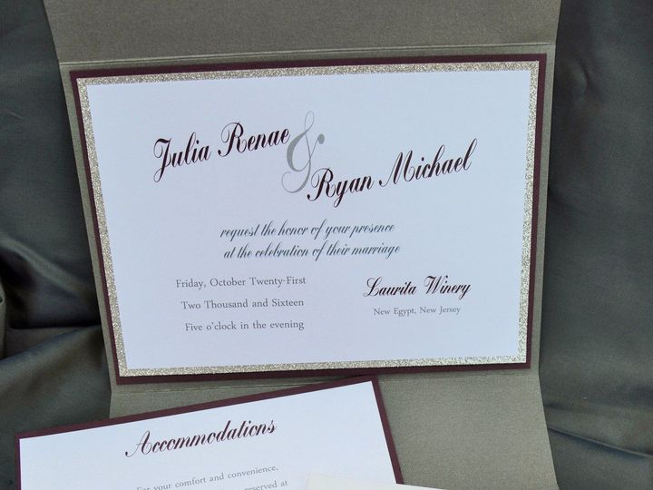 Tmx 1435619488232 Dsc0261 Flemington wedding invitation