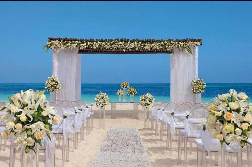 Wedding venue by the beach