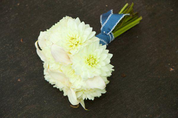 Tmx 1316765840210 VintageWhiteBouquetwithBlueCountryChicRibbonPetiteFleurArtworksTulsaPhotography Tulsa wedding florist