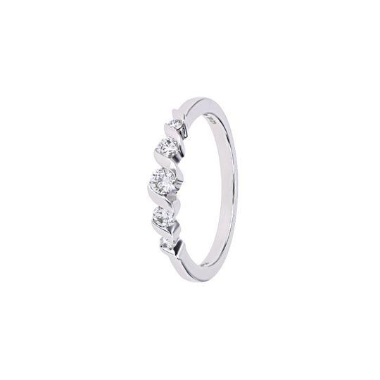 Single stone wedding ring
