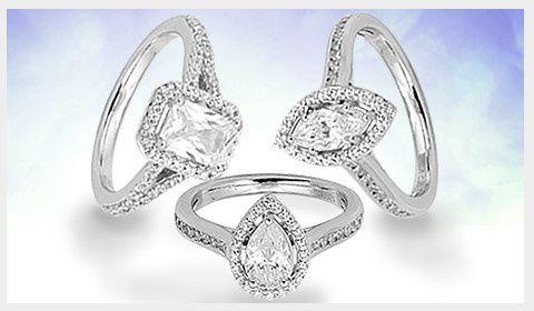 Different cuts of diamond