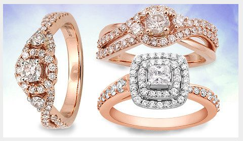 Tmx 1462455404656 Rose Gold Engagement Ring Iselin wedding jewelry