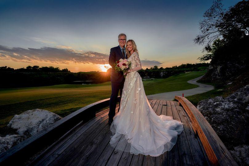 Black diamond ranch wedding