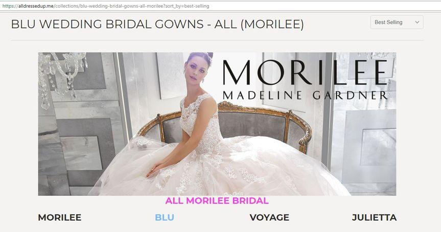 Morilee Blu Bridal Gowns