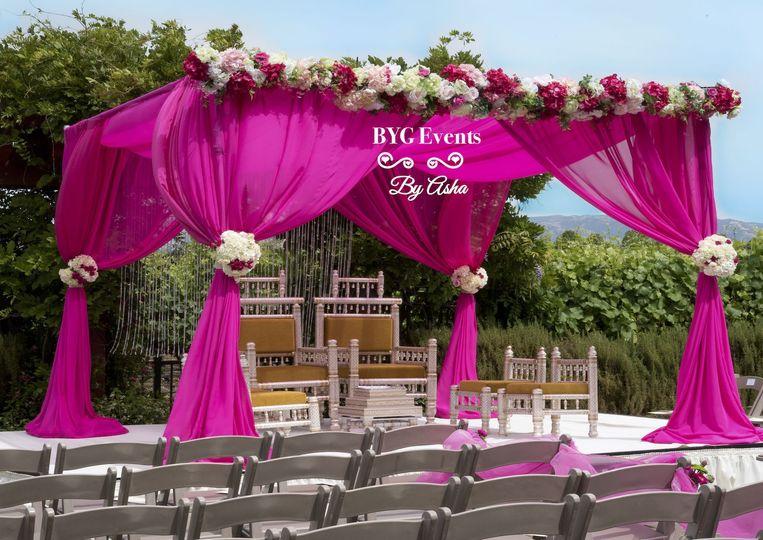 Hot pink designs