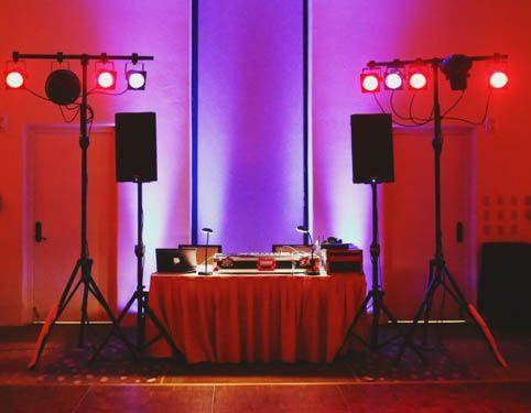 DJs' booth