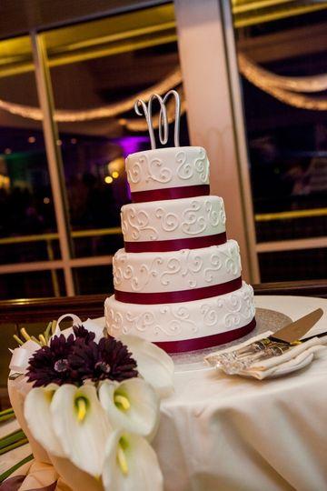 waitts minges wedding cake picture