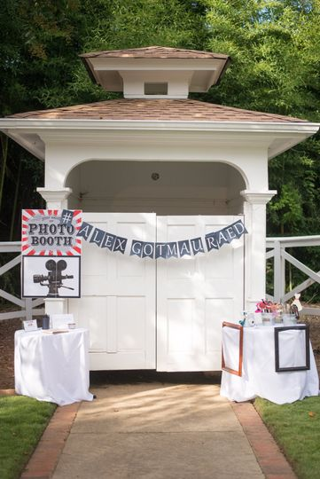 Garden Shed Photo booth