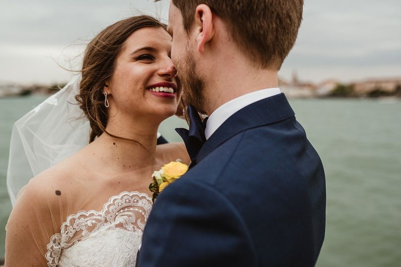 Kiss in Venice