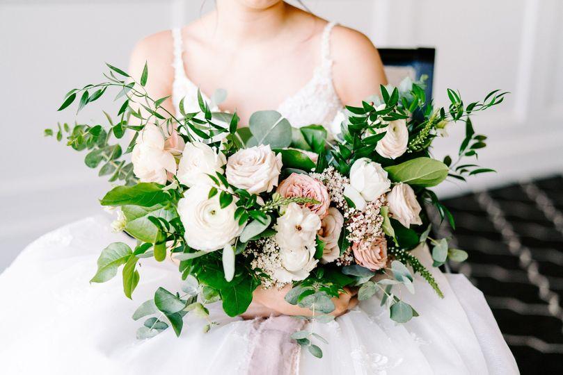 Dream dusty rose bouquet.