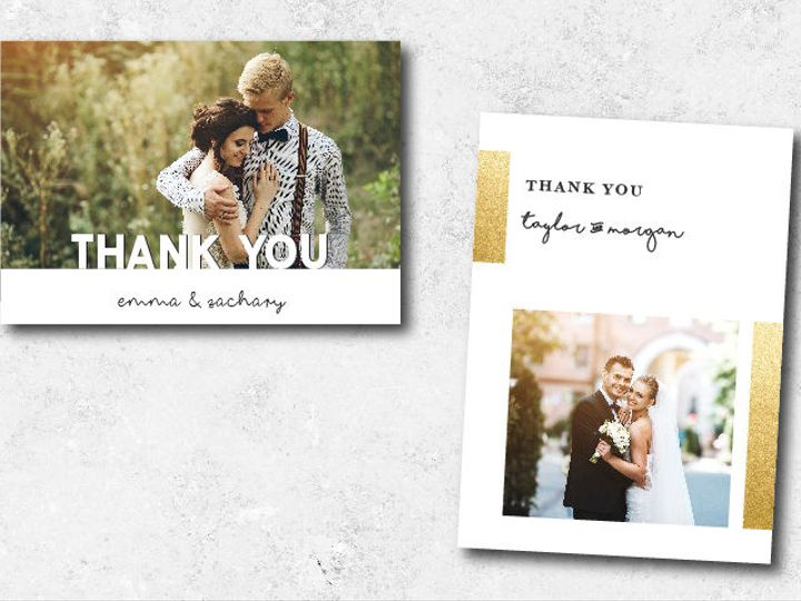 Tmx 1522944808 F7e0c06e0dc2c648 1522944807 B3e5c562cc1d5f01 1522944801998 6 Thankyous 01 Minneapolis, Minnesota wedding invitation