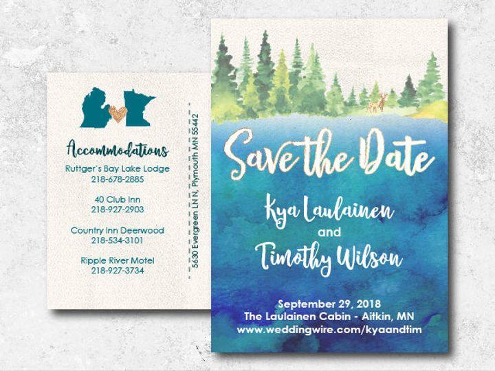 Tmx 1522944816 5b0d221e31870f9f 1522944816 E7ba103630dad467 1522944802004 18 Kyatim 01 Minneapolis, Minnesota wedding invitation