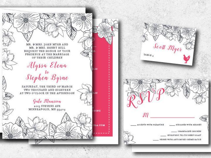 Tmx 1522944816 Eb98158dc0952b1f 1522944815 Aa705175f2ac0169 1522944802001 12 Alyssastephen 01 Minneapolis, Minnesota wedding invitation