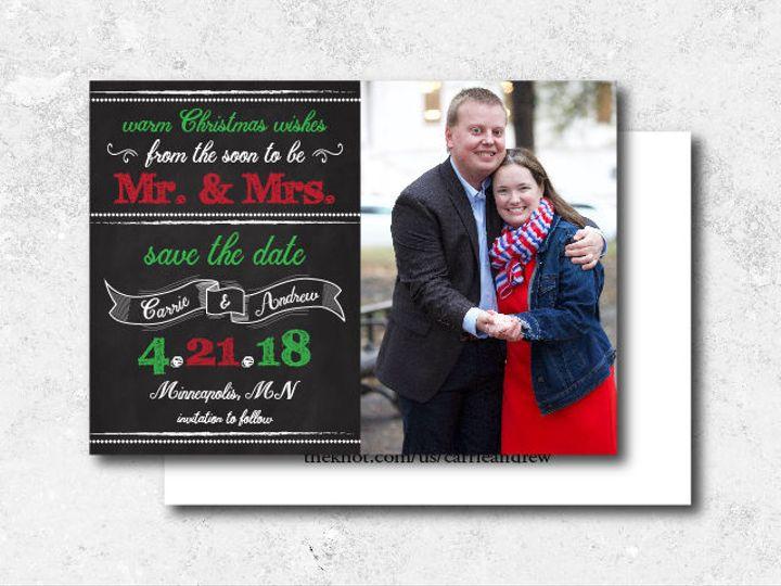 Tmx 1522944823 53a379951738ea06 1522944822 F06574a1f3c1f9a2 1522944802009 27 Carrieandrew Std  Minneapolis, Minnesota wedding invitation