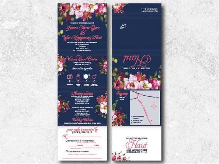 Tmx 1522944823 A43bf4992e76a901 1522944821 E6aee10d4be5a49e 1522944802006 22 Jessicatyler 01 Minneapolis, Minnesota wedding invitation