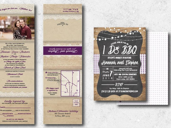 Tmx 1522944823 Fb0cff061ef2b061 1522944822 65718591f357161a 1522944802006 24 Hannahstephen 01 Minneapolis, Minnesota wedding invitation