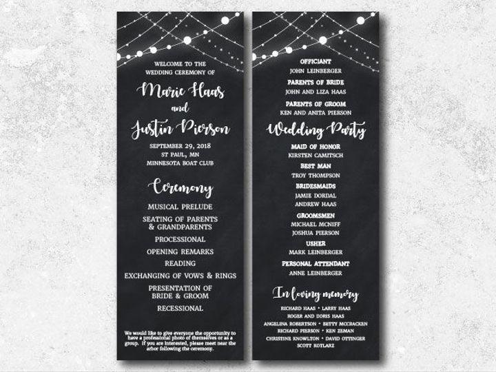Tmx 1538163647 12eefd434b791857 1538163646 D0300ebaff6c361d 1538163624730 1 Marie Justin Progr Minneapolis, Minnesota wedding invitation