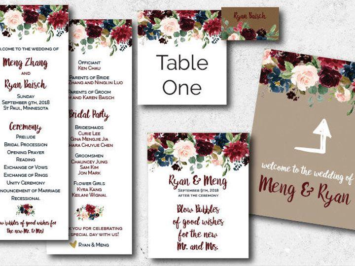 Tmx 1538163648 D5776d51edd01dd9 1538163647 369445410a99ec8e 1538163624732 3 Mengryan Ceremony  Minneapolis, Minnesota wedding invitation