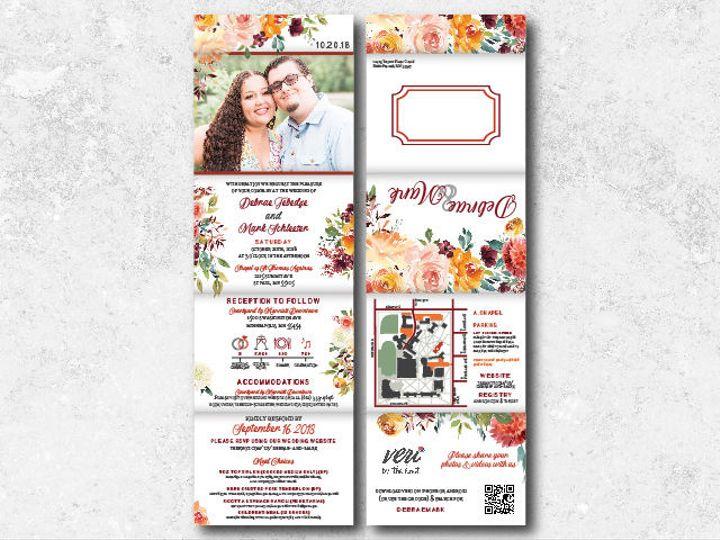 Tmx 1538163649 9cdcc919119a549e 1538163648 Cd41c7b05613206f 1538163624734 7 Debraemark 1 01 Minneapolis, Minnesota wedding invitation