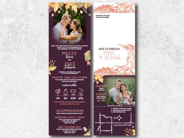 Tmx 1538163649 9ef75f05586b13f0 1538163647 8792b16f1e85556b 1538163624733 6 Mollyjake 01 Minneapolis, Minnesota wedding invitation