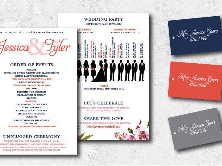 Tmx 1538163649 B0b7e6108e317e1f 1538163648 B4b315b3a0b6c45a 1538163624735 9 Jessicatyler Progr Minneapolis, Minnesota wedding invitation