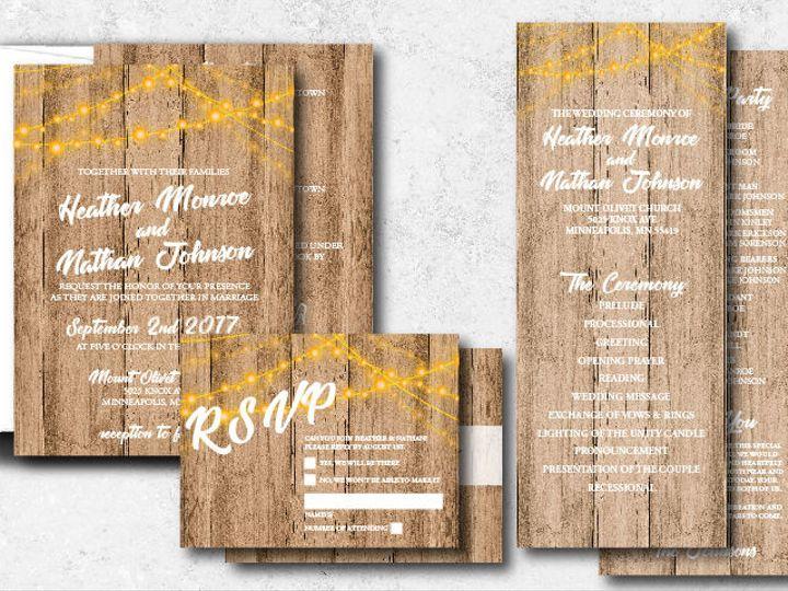 Tmx 1538163670 F3f89c1e6354e41c 1538163668 0edbf1b0795b4b10 1538163624741 26 Heathernathan 01 Minneapolis, Minnesota wedding invitation
