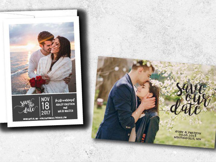 Tmx 1538163678 963d021d3e3c485b 1538163677 3a0984d9462326d3 1538163624744 32 Savethedates 01 Minneapolis, Minnesota wedding invitation