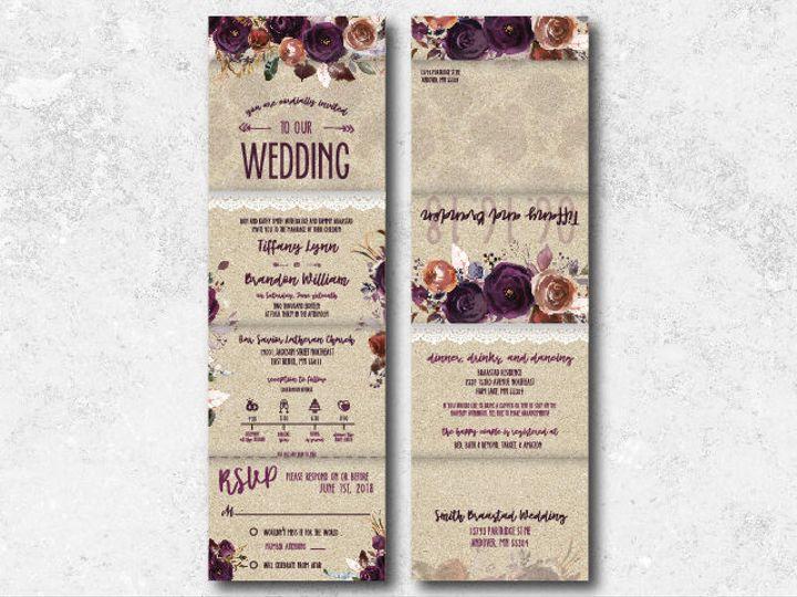 Tmx 1538163679 86df44e68f990edc 1538163677 F412652f8ec71b68 1538163624744 34 Tiffanybrandon 01 Minneapolis, Minnesota wedding invitation