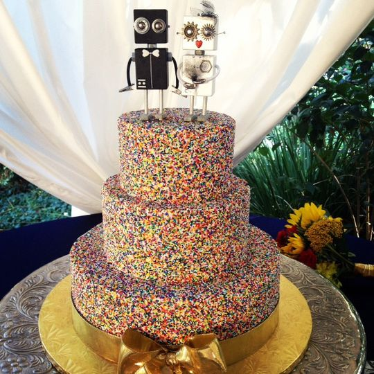 Cute Cakes Heavenly Cupcake Wedding Cake California San Diego