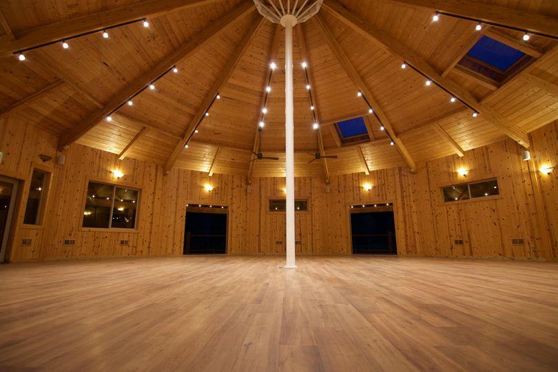Inside of Pavilion