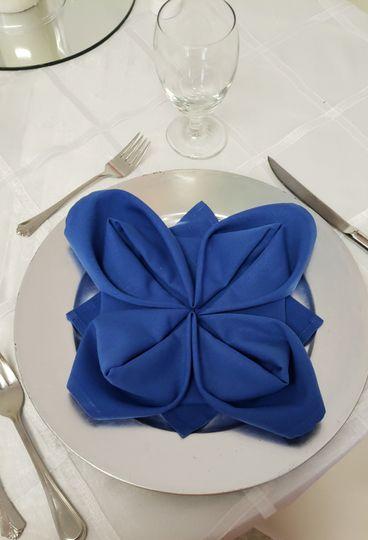 Unique napkin folds
