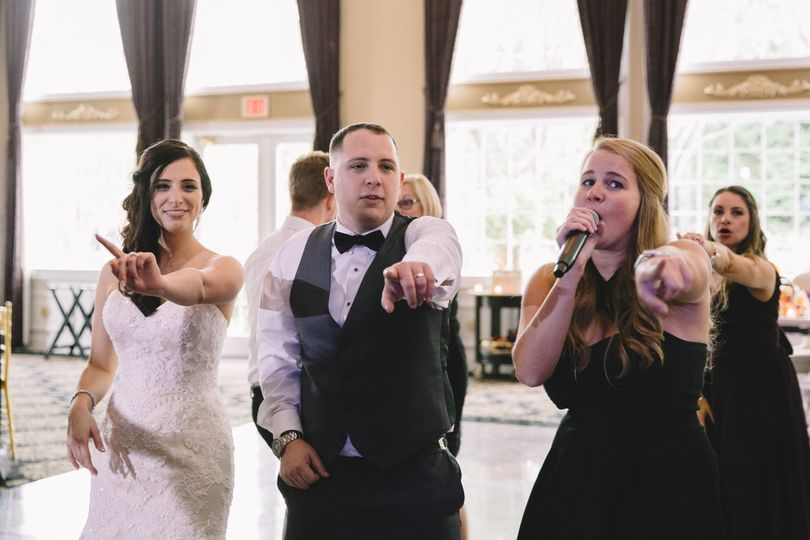 Newlyweds and the vocalist