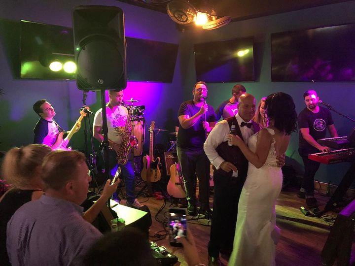 When a bar becomes a wedding