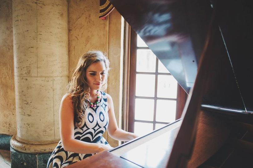 The piano has such a gorgeous sound. It is truly my favorite instrument to play at weddings.