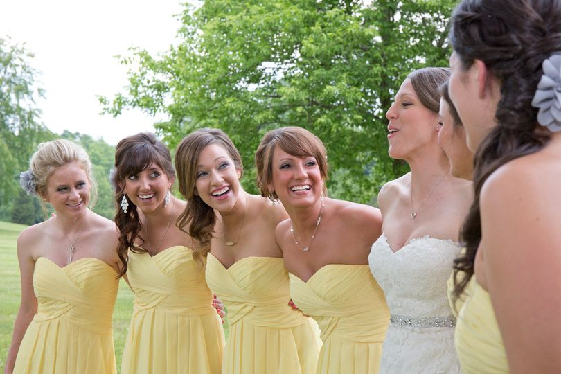 Cheerful in yellow