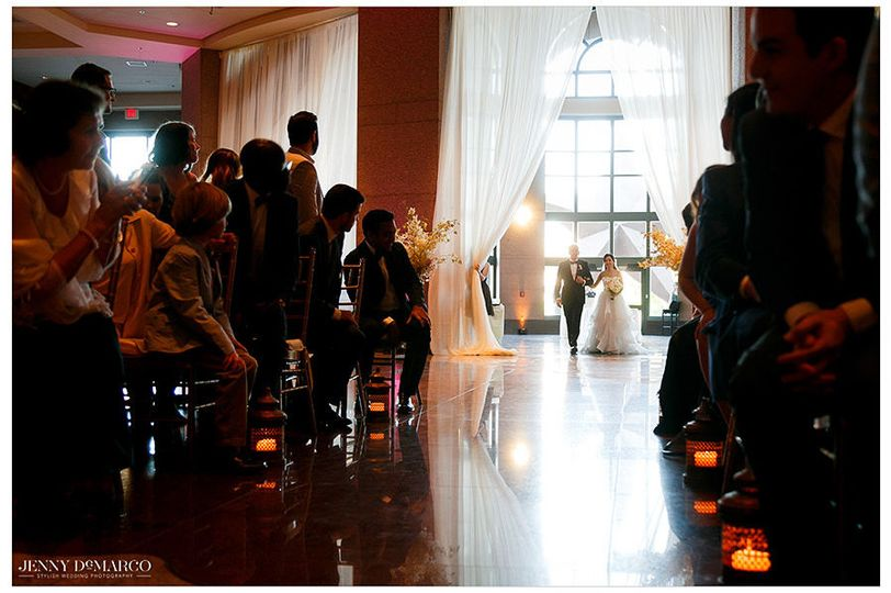 Ceremony Entrance in the Grand Lobby