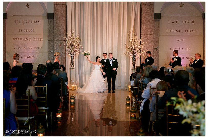 Ceremony in the Grand Lobby