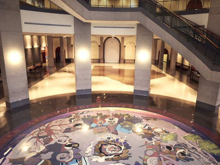Our Rotunda + Grand Lobby are a blank canvas waiting to be transformed