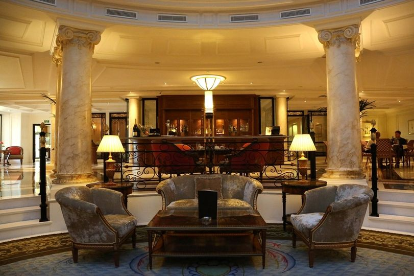 Our lobby bar sits in front of our two restaurants and welcomes you to enjoy a drink in the setting...