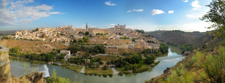 A spectacular view of our city centre here in Toledo! (Spain)