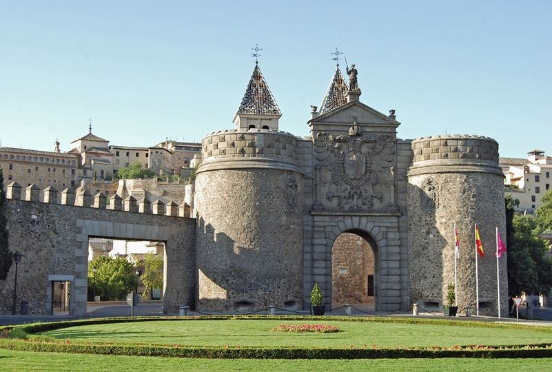 This is the entrance to the city centre known as the Casco of Toledo, an incredible location to...