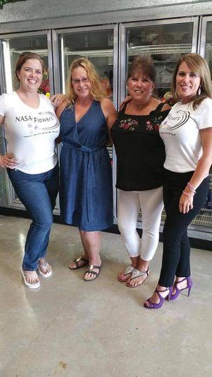 Ladies of NASA FLowers