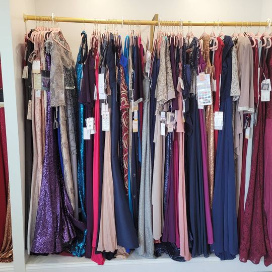 Collection of lovely gowns