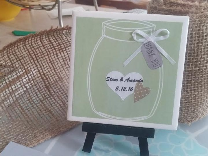 Tmx 1453846604193 Green With White Outline Real Ribbon New Berlin wedding favor