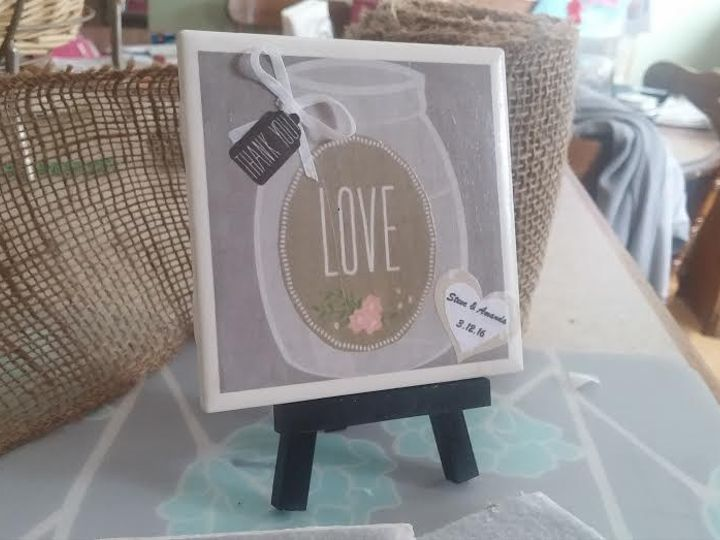Tmx 1453846615589 Grey With Green Love Jar Real Ribbon New Berlin wedding favor