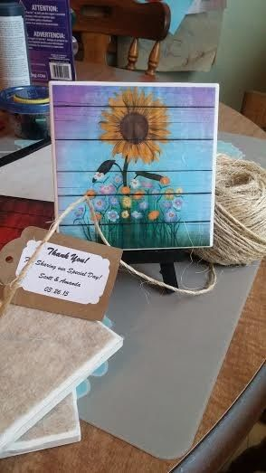 Tmx 1453847192085 Colorful Barnwood And Sunflower New Berlin wedding favor