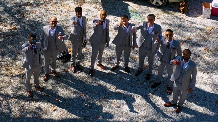 Wedding- The Boys